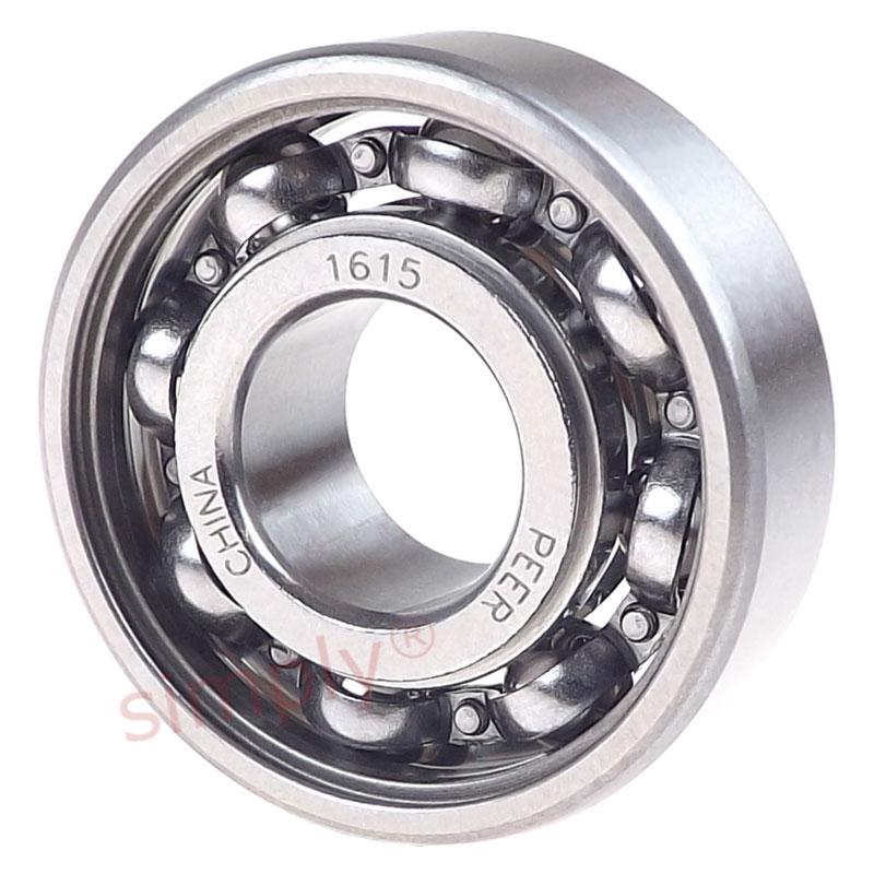 Peer 1604ZZ Metal Shielded Deep Groove Ball Bearing 0.375x0.875x0.28125 inch